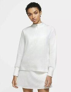 Nike Therma Victory Womens Sz.XL L/S 1/2-Zip Golf Pullover CU0817-100 $75