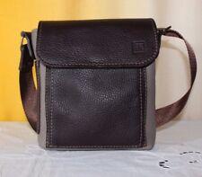 Borsello uomo vera pelle marrone fatta a mano  handmade man bag leather italy(3)