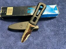 GERBER ITALIAN VINTAGE RIVER SHORTY WITH MOLDED FRICTION RELEASE SHEATH! (BOX)