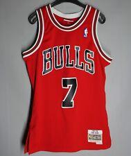 NBA JERSEY AUTHENTIC #7 TONI KUKOC CHICAGO BULLS MITCHELL & NESS 1997 1998