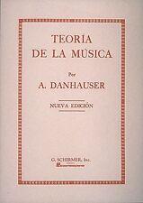 Teoria de la Musica nueva Edicion Voice Technique Special Products NEW 050326630