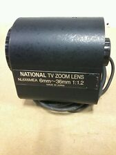 NL6X6MEA  NATIONAL TV ZOOM LENS 6mm-36mm/G6A/NO 103953