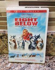 Eight Below (DVD, 2006, Full Frame) Walt Disney Movie GUC
