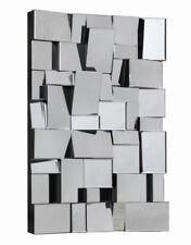 Brax 3D Art Deco Glass Wall Mirror