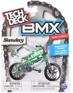 Tech Deck BMX Bike Single Pack ASSORTED - Free Post - Fingerbike Cult Sunday WTP