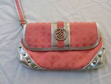 RocaWear Pink and Silver Studded Wristlet