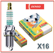Set 16 Spark Plugs Iridium Power DENSO 5343 IKH16 High Performance & Response V8
