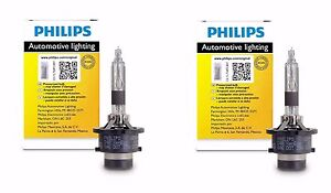 2x Authentic Philips D2R HID Upgrade Xenon Bright WHITE 200% More Light Bulb OEM