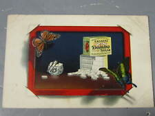 DOMINO SUGAR Advertising  Butterfly Postcard