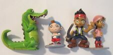 Disney Jake & Neverland Pirates Peter Pan PVC Figure Figurine Cake Topper Lot