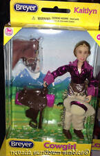 Breyer Model Horse Accessories Classic Cowgirl Kaitlyn w/Saddle & Bridle