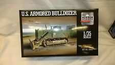 MZZ35852 1:35 Mirror Models US Army Military Armored Bulldozer
