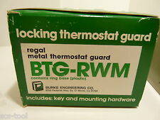 Burke Engineering Beko Btg Rwm Metal Key Locking Thermostat Guard Made In Usa