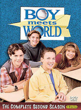 Boy Meets World - The Complete Second Season DVD, Trina McGee, Matthew Lawrence,