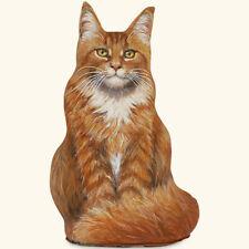 Doorstop - Marmalade Maine Coon Cat Doorstop - Cat Door Stopper