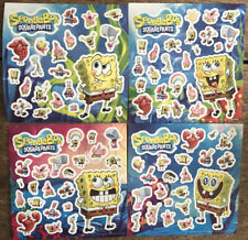 New - 4 Sheets of SPONGEBOB SQUAREPANTS STICKERS - Party Bags
