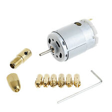 12V Mini Mirco Electric PCB Motor Drill Press Drilling Bits Tool Twist Drill
