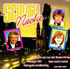SCHLAGER NACHT - Volume I - Top Schlager CD 16 Tracks NEU & OVP
