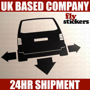 NEW* Down and Out Sticker,Volkswagen T5 Caravelle