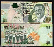 Papiergeld Welt 3 Brilliant Bahamas 1 Dollar 1968 Pick 27a Münzen