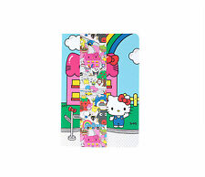 Sanrio Hello Kitty Town Characters 7pc Notebook Set: Hello Sanrio