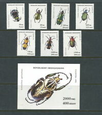 Insects Malagasy Stamps