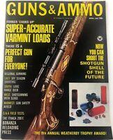 Vintage GUNS & AMMO Magazine April 1967 The Ithaca 200 E