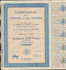 Compagnie de la CHINE & INDES (CHINE INDE) (W)