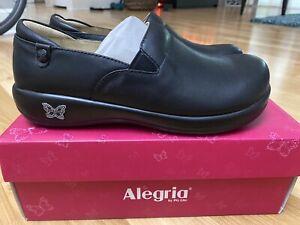 Alegria KELI Black Clogs Shoes Size 9.5/10. 40 KEL-601. NEW