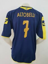 MAGLIA CALCIO FROSINONE ALTOBELLI MATCH WORN GARA JERSEY FOOTBALL ITALY IT41