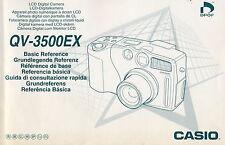 Casio QV 3500 EX Originale Bedienungsanleitung  D GB F E I S P 104 Seiten