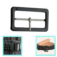 50mm Black Coat Belt Buckle Adjustable Fastener for DIY Clothing Craft Bag Strap