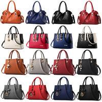 Women Lady Leather Handbag Shoulder Messenger Satchel Tote Hobo Crossbody Bag