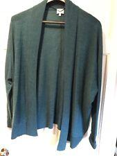 East Green Marino Wool Cardigan Size 18