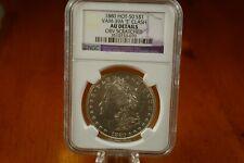 "1880  Hot-50 Vam-39A ""E"" Clash Morgan Silver Dollar NGC AU Details"