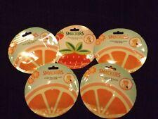 Lot of 5 Smackers Hydrating Fruit Slices Face Mask - Strawberry & Grapefruit NIP