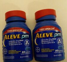 Aleve PM Sleep- Aid & Pain Reliever  160 ct. Caplets- Exp 2019 or Later-New