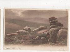 Andrew Beer Lustleigh Cleave Nutcracker Rock Devon Vintage Art Postcard 557b