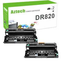 2x Drum Compatbile for Brother DR820 TN850 Toner L6200DW L5800DW L6400DWT L5000D