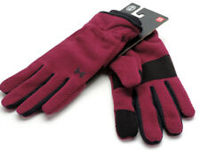 Under Armour UA Coldgear Infrared Fleece Gloves Size Large Black Currant New