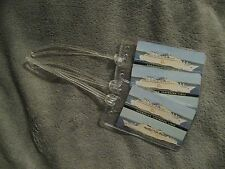 Norwegian Caribbean Lines Sunward Cruise Vintage Playing Card Luggage Tag Tags 3