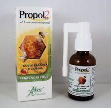 ABOCA PROPOL2 Spray gola no alcool Bambini Adulti 30ml propoli naturale fragola