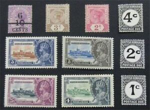 nystamps British Honduras Stamp # 33//111 J1-J3 MOGH    O22x2248