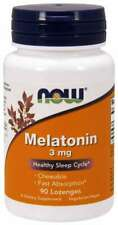 Now Foods Melatonin 3 mg 90 Lozenges