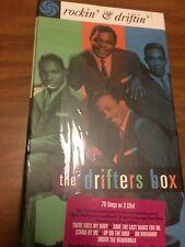 Rockin' & Driftin' The Drifters Box (US) CD, Apr-1996, 3 Discs NEW SEALED