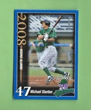 MICHAEL GIANCARLO STANTON 2008 FALCONER JAMESTOWN JAMMERS--STANTON'S FIRST CARD