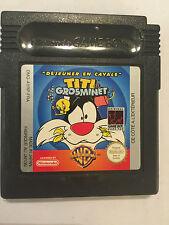 Nintendo Game Boy Color deseuner en cavale TITI et Grosminet Sylvester & Tweety