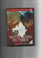 """BRAD PITT - FILM """" SETTE ANNI IN TIBET """" . DVD COME NUOVO"""