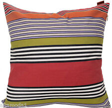 "MISSONI HOME  PILLOW COVER 100% COTTON SATEEN 16x16"" JACQUARD WOVEN  NIGEL 156"
