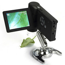 "Digital Microscope Magnifier Endoscope USB +16g SD 500x 3""lcd Video Photo 600lus"
